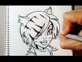 Comment dessiner Toralei de Monster High étape par étape