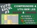 Excel #3 - Comprendre et utiliser les dates et les heures