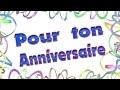 Joyeux anniversaire en français et bien sûr UN JOYEUX ANNIVERSAIRE HUMOUR