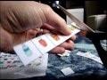ASMR - Cutting laminated paper - Découpe de papier plastifié + whispers