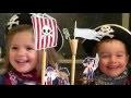 Gâteau d'anniversaire Bateau de pirates - Les P'tites Recettes