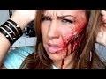 Maquillage Effets Spéciaux : Joue Tranchée