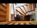 Démonstration de la rénovation d'un escalier !