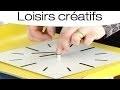 Fabriquer une horloge style industriel