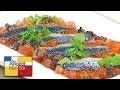 [Recette] Sardines Fraîches marinées, Compotée d'Oignon et Poivron - Chef Christian Peyre