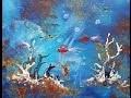 """Démo de la réalisation du tableau """"Aquarium"""" par Axelle BOSLER"""