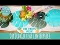 DIY Jungle Leaf Centerpiece - Tiki Party Week - HGTV Handmade