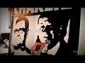 DEKA (Artist) : 3 minutes pour peindre CHARLIE HEBDO !