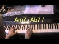Que reste t'il de nos amours - I WISH YOU LOVE - piano jazz cover facile et lent - Yvan Jacques