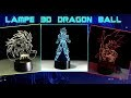 Test achats les lampes 3d dragon ball d'aliexpress