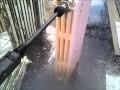 Renover soi même ses radiateurs fonte avec un nettoyeur haute pression