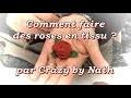 Comment faire des roses en tissu ?