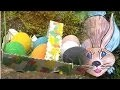 Panier ou corbeille de Pâques : Bricolage DIY de Pâques