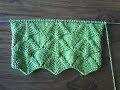 tuto point de  tricot / point fantaisie de tricot n° 1