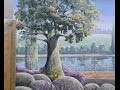 Fresque paysage - Décoration Bord de rivière HD