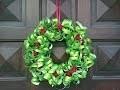Bricolage Noël. Fabriquer une couronne de Noël