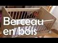 Berceau en bois – Menuiserie / Travail du bois