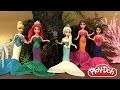 Play Doh Pâte à modeler Princesses Magiclip en Sirènes Mermaid Disney Princess