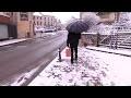 Dans l'ouest de la France, le plaisir de la neige sans ses inconvénients