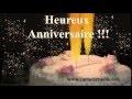 Heureux Anniversaire - Etincelles - Carte Virtuelle Vidéo Animée Gratuite