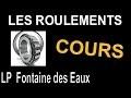 LES ROULEMENTS - Cours - DESSIN INDUSTRIEL