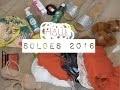 Haul - Soldes Ete 2016