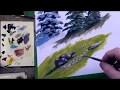 Cours de peinture - Comment peindre les pierres et les rochers