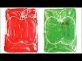 Activité pour la rentrée: gravure de pommes