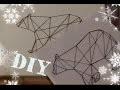 DIY - tableau Ours pOlaire (fil tendu)
