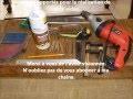 Fabrication d'un métier à canevas pas cher