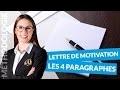 Lettre de motivation : Les 4 paragraphes - Méthodologie - digiSchool