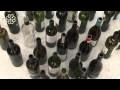 Des bouteilles de verre qui se transforment en trottoir...