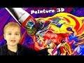 Réalisation de tableaux en relief avec la peinture gonflante 3D ! Recette facile - Paint Art - DIY