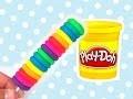 Comment faire une sucette bâtonnet multicolore en pâte à modeler - rainbow - Gloopy