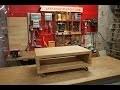 Comment réaliser une table basse en chêne