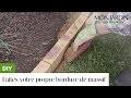 DIY : faites votre propre bordure de massif