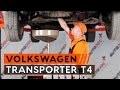 Comment remplacer des l'huile moteur et le filtre à huile sur une VW TRANSPORTER T4