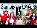 GAULOIS VS ROMAINS : LE COMBAT D'ANGIE MAMAN 2.0 CONTRE DÉMO JOUETS AU PARC ASTERIX!