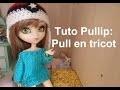 Tuto Pullip - Pull en tricot