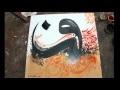 LA LETTRE QUI DANSE [Calligraphie Arabe] - Rachid ZIZI