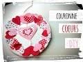 fête des grands mères : activité manuelle couronne coeur