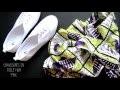 DIY: customiser des chaussures avec du pagne africain (wax)