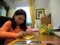 Réalisation de panier en papier pour Pâques
