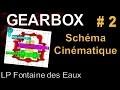 Dessin industriel - Boite vitesse 2 -  Schéma cinématique