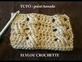 TUTO cours 39 : Point torsade au crochet ! / crochet tutorial: easy twist stitch