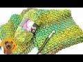 Grande écharpe d'hiver à tricoter soi-même | Simple, rapide & super chaud | Multicolore
