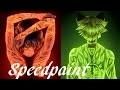Tattoos- Miraculous Ladybug -- Speedpaint