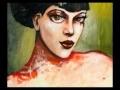 Portrait de femme - tableaux modernes | bimago.fr