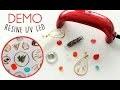 Démonstration Lampe UV Led pour créations de bijoux en résine
