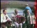 Marcel PELAT et Charly CHARBONNIER sur le bateau de Garabit   archives 1987